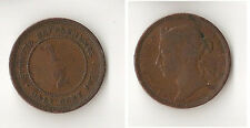 Malaysia Straits Settlements 1/2 cents 1872  RARE !!!