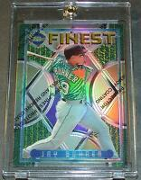 1995 TOPPS FINEST REFRACTOR W/C #105 JAY BUHNER