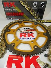 91-96 Honda CBR600 F2/F3 RK GXW Gold 530 -1/+2 SuperSprox Chain and Sprocket Kit