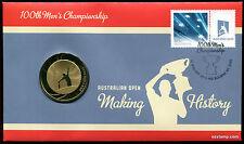 2012 Tennis Open PNC Coin Stamp Australia