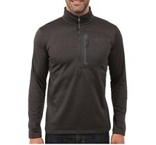 The North Face Canyonlands ½-Zip Pullover for Men Dark Grey Heather XL NWT