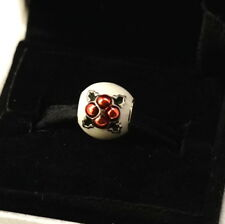 NEW Authentic PANDORA Sterling Silver Christmas Pudding Charm 791412ENMX