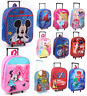 Children Trolley Bags Kids Official Licence Character Trolley Bag Hand Luggage