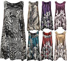 Ärmellose Damenblusen,-Tops & -Shirts mit Polyester für Freizeit ohne Mehrstückpackung