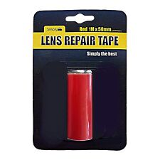 Car Auto Lens TAPE Repair Broken Cracked Rear Front Lights RED - 1M x 50mm
