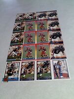 *****Ron Cox*****  Lot of 20 cards.....6 DIFFERENT / Football
