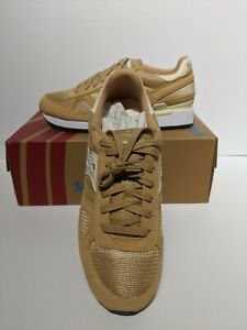 SAUCONY ORIGINALS MENS SNEAKERS ,SIZE 7.5 US ,6.5 UK, 40.5 EURO , LIGHT TAN