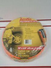 Amflo Pro Air Hose Part 576 50a 50 X 38 14 Npt Fittings 300 Psi Pvc