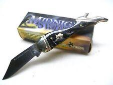 RR960 Couteau Forme de Jambe de Femme Lame Acier Inox Manche ABS Rough Rider