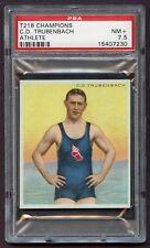 1910 T218 Champions C.D. Trubenbach *Athlete* PSA 7.5 NM+ #15407230