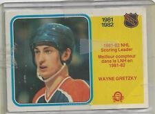 WAYNE GRETZKY   OPC 1982   HOCKEY CARD #243