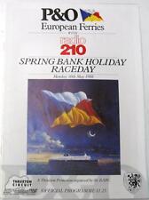 THRUXTON BARC Radio 210 30th MAGGIO 1988 MOTOR RACING PROGRAMMA UFFICIALE