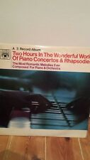two hours in the wonderful world of piano concertos and rhapsosies