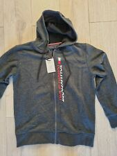 Tommy Hilfiger Jeans Essential Graphic Oth Hoodie Mens Size L Ref Cn1065