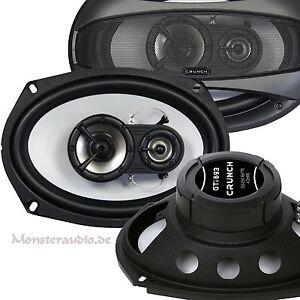 Variant 1988-1997 B3//B4 CRUNCH Heck Auto Lautsprecher Set für VW Passat 35i