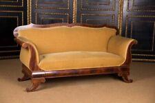 Antikes Biedermeier Sofa Couch um 1825 Mahagoni*
