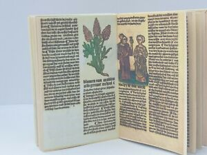 1:12 scale, BOOK, MEDIEVAL MEDICINE, , Hand Crafted By Ken Blythe