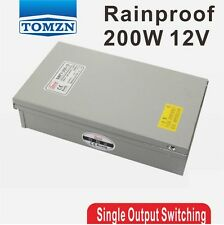 200W 12V 16.7A Rainproof outdoor Single Output Switching power supply