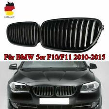 Nieren Kühlergrill Schwarz Glänzend Für BMW 5er F10 F11 10-15 Limousine Touring
