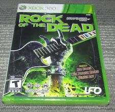 Rock of the Dead Xbox 360 Brand New! Fast Shipping!