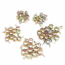 50X Spring Clip Fuel Water Pipe Line Hose Air Tube Clamps Fastener 5/6/7/8/9mm