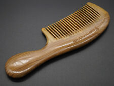 Empty Person@ Real Nature Green Sandalwood Comb Quality Handmade Wooden Comb