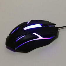 Design Light LED 1200DPI USB Wired Optical Gaming Mice Mouse For Laptop PC