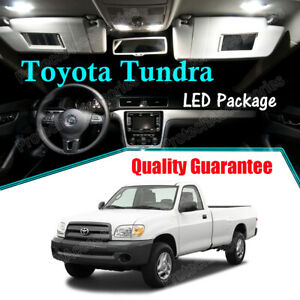 White LED Interior Lights Package Kit For 2000 - 2004 2005 2006 Toyota Tundra