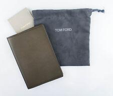 Nuova con Etichetta Tom Ford Verde Liscio 100% Piegabile di Cuoio a2823fc65d85