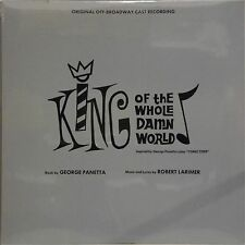 ORIGINAL CAST RECORDING 'KING OF THE WHOLE DAMN WORLD' US IMPORT LP SEALED