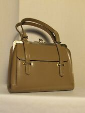 sac vintage cuir synthétique taupe