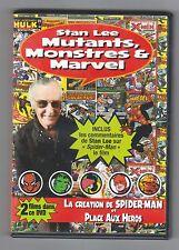 DVD STAN LEE MUTANTS MONSTRES ET MARVEL année 2002
