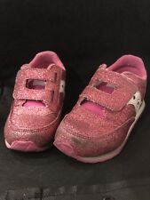 Saucony Jazz Low Pro Baby Girls Shoes Glittery Pink, Us 9.5, Uk 9; Eur 26.5