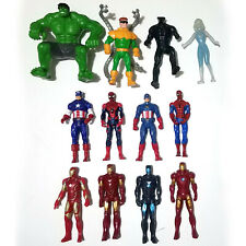 "Marvel Universe 3.75"" Basic Figure Lot Avengers Iron Spider Man Hulk Captain"