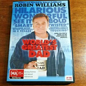 World's Greatest Dad DVD R4 LIKE NEW FREE POST
