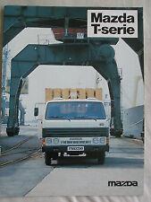 FOLLETO de camión Mazda Serie T c1984 texto neerlandés