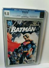 BATMAN 612 CGC 9.8 NM HUSH JIM LEE Art Clean CGC Case +Free Graded Comic sleeve!