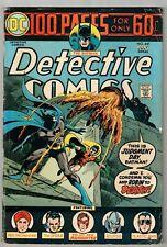 DETECTIVE COMICS #441 (VG+) BATMAN! 1st Harvey Bullock 100 Page Giant! DC 1974