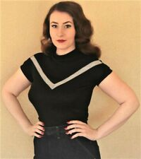 FREDDIES OF PINEWOOD Velma Top, 1950s, 50s, Size L