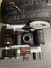 Nikon D700 with NIKKOR 28-70, SB800 and more