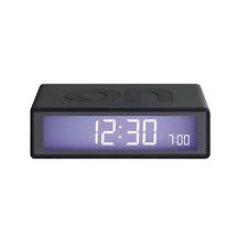 Lexon Flip 2 -alarm Clock Orologio Sveglia Digitale -gomma ABS Grigio Scurodark