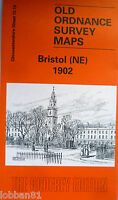 OLD ORDNANCE SURVEY MAPS  BRISTOL NE GLOUCESTERSHIRE  1902 Sheet 72.13 Brand New