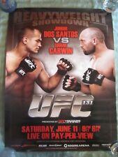 UFC 131  18 X 24  POSTER  DOS SANTOS VS CARWIN  HEAVYWEIGHT SHOWDOWN  MMA