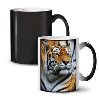 Tiger Photo Wild NEW Colour Changing Tea Coffee Mug 11 oz | Wellcoda