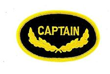 Patch patches embroidered iron on backpack captain military us navy yacht