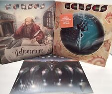 KANSAS: 1976 Leftoverture, Song For America, Point Of Know Return Set 3 Record
