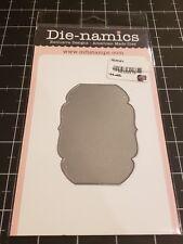 Die-namics metal cutting craft die Heirloom label My favorite things MFT