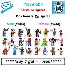 "Playmobil Series - 14: Male ""9443"" & Female ""9444"" Figures (Buy 3 - Get 1 Free)"