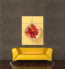 Stampa Poster gigante alimentare bevanda FOTO PEPERONCINO CHILI PEPPER da cucina pamp338