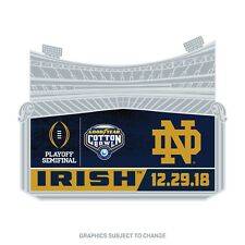 2018 CFP Notre Dame Fighting Irish Cotton Bowl Semi Final Lapel Pin VHTF